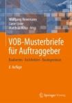 VOB-Musterbriefe für Auftraggeber.