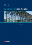 Bauphysik-Kalender 2016. ABO-Version