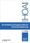 Architektenvertragshandbuch Innenraumplanung