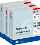 BKI Baukosten Neubau 2017. 3 Bände - Gesamtpaket.
