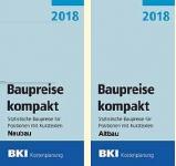 BKI Baupreise kompakt Altbau/Neubau 2018.