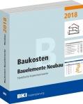 BKI Baukosten Bauelemente Neubau 2018