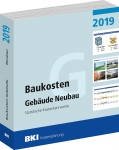 BKI Baukosten Gebäude Neubau 2019 (Teil 1)