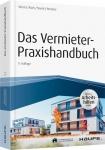 Das Vermieter-Praxishandbuch - inkl. Arbeitshilfen online.