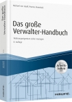 Das große Verwalter-Handbuch - inkl. Arbeitshilfen online.