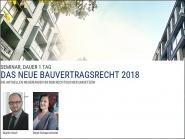 Das neue Bauvertragsrecht 2018