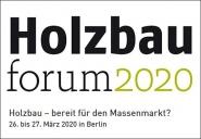 Holzbauforum 2020.