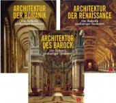 Baukunst-Paket: Romanik, Renaissance und Barock.