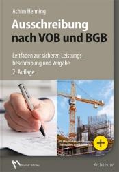 Ausschreibung nach VOB und BGB.