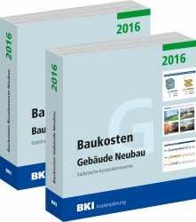 BKI Baukosten Neubau 2016. 2 Bände.