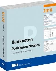 BKI Baukosten Positionen Neubau 2018