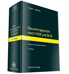 Bauvertragsrecht nach VOB und BGB.