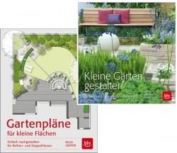 Gartenpläne für kleine Flächen & Kleine Gärten gestalten.