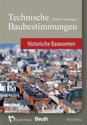 Technische Baubestimmungen – Historische Baunormen - DVD