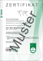 Kompakt-Seminar Sachverständiger für Immobilienbewertung - mit optionaler DEKRA-Zertifizierung!