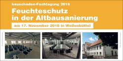 Bauschaden-Fachtagung 2016