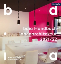 BDIA Handbuch Innenarchitektur 2021/22