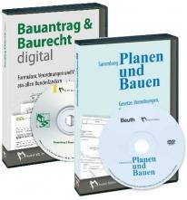 Sammlung Planen und Bauen - DVD - plus CD Bauantrag & Baurecht digital