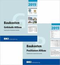 BKI Baukosten Altbau 2019 - Kombi Gebäude + Positionen. ABO-Ausgabe!