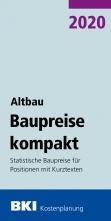 BKI Baupreise kompakt - Altbau 2020