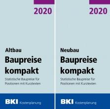 BKI Baupreise kompakt Altbau/Neubau 2020.