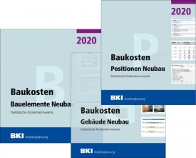 BKI Baukosten Neubau 2020. 3 Bände - Gesamtpaket.