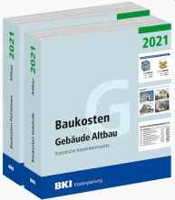 BKI Baukosten Altbau 2021 - Kombi Gebäude + Positionen