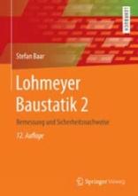 Lohmeyer Baustatik 2.
