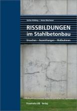 Rissbildungen im Stahlbetonbau.