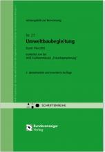 Umweltbaubegleitung - Leistungsbild und Honorierung