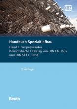 Handbuch Spezialtiefbau. Band 4: Verpressanker.