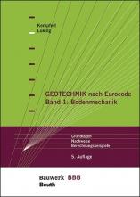 Geotechnik nach Eurocode - Band 1: Bodenmechanik