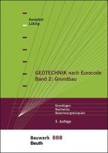 Geotechnik nach Eurocode - Band 2: Grundbau