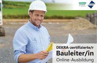DEKRA-zertifizierte/r Bauleiter/in - Komplett-Paket mit Sparvorteil!