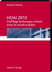 HOAI 2013. Prüffähige Rechnungen - CD-ROM!