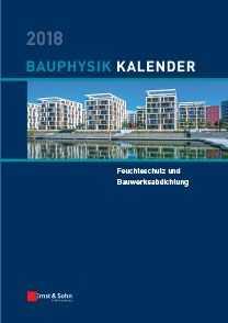 Bauphysik-Kalender 2018. ABO-Version. € 20,- günstiger!
