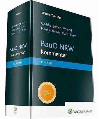BauO NRW Kommentar.