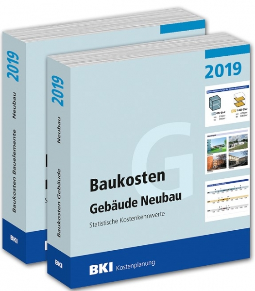 BKI Baukosten Neubau 2019. 2 Bände.