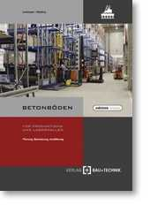 Betonböden für Produktions- und Lagerhallen.