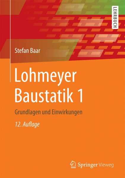 Lohmeyer Baustatik 1
