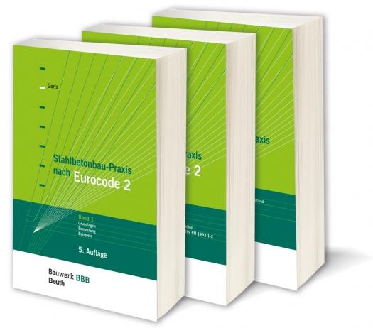 Stahlbetonbau-Praxis nach Eurocode 2 - Band 1, 2 & 3