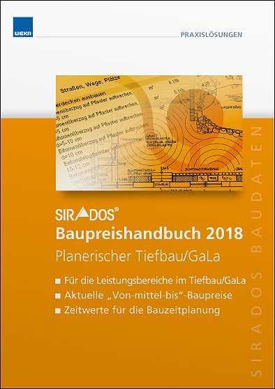 SIRADOS. Baupreishandbuch Tiefbau & GaLa 2018