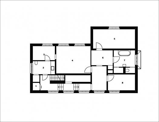 Architekturbuch grundriss atlas einfamilienhaus for Einfamilienhaus plan