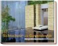 Sichtschutz und Gartendesign.
