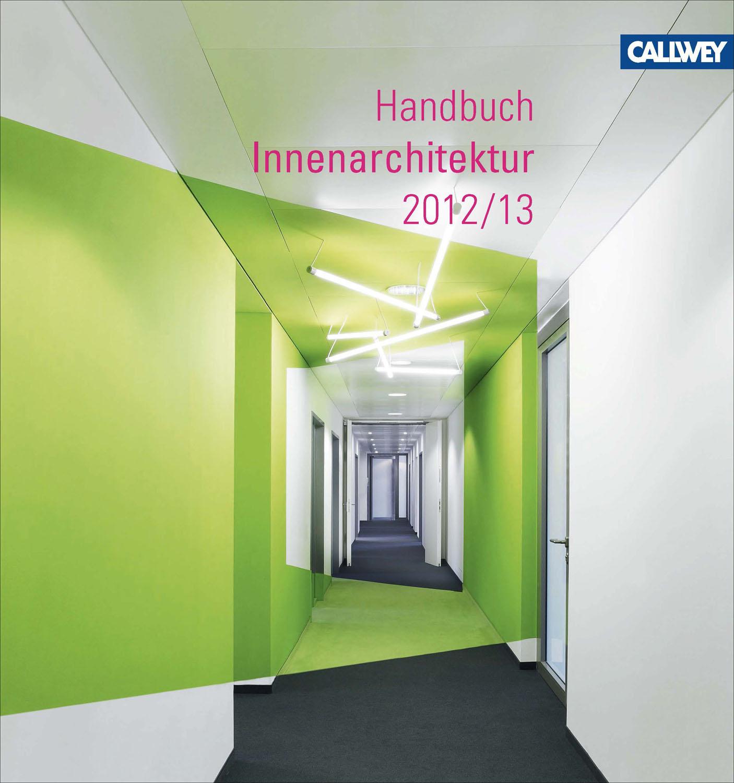 bdia handbuch innenarchitektur 2012/2013. | medienservice, Innenarchitektur ideen