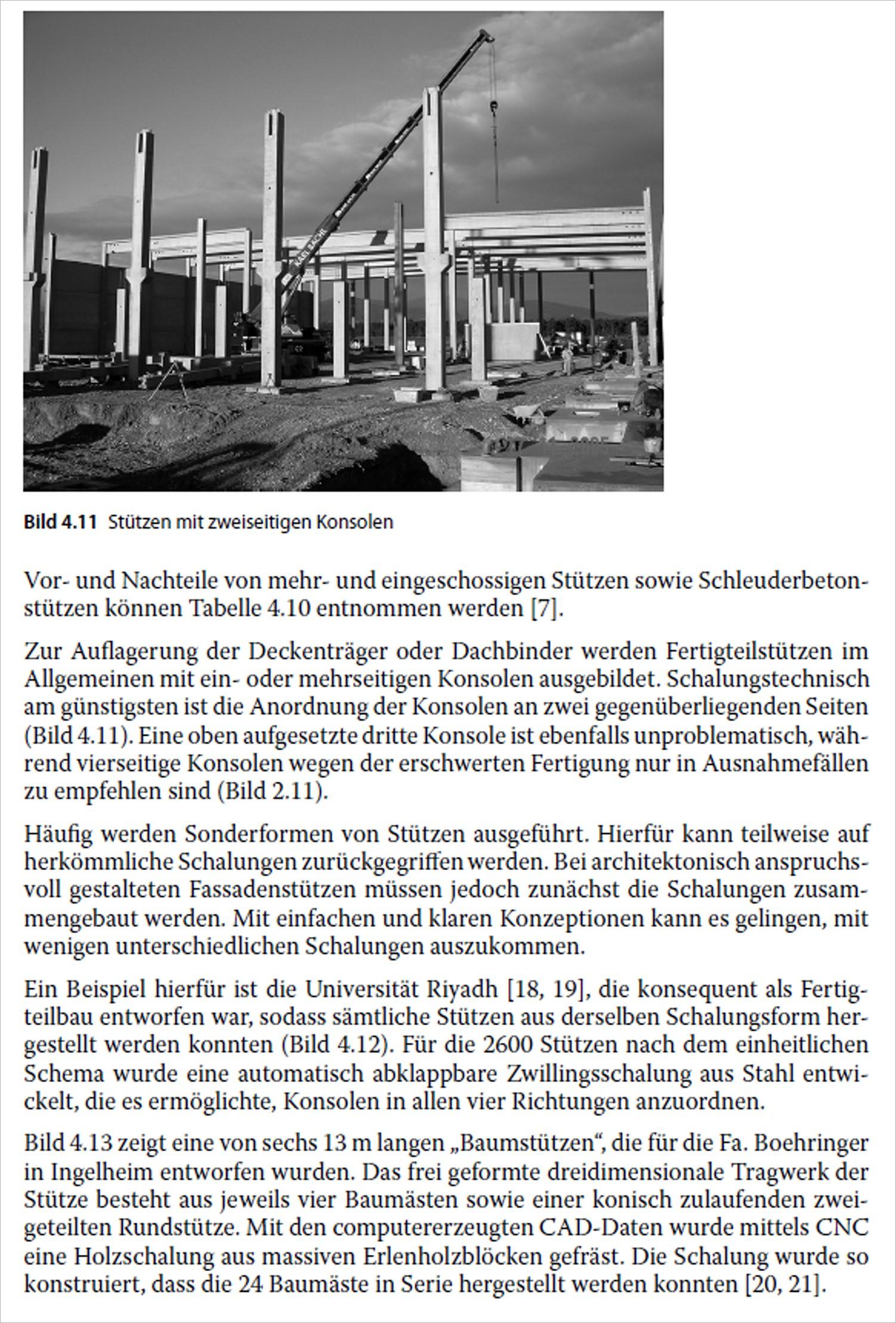 Bauen mit Betonfertigteilen im Hochbau. | medienservice architektur ...