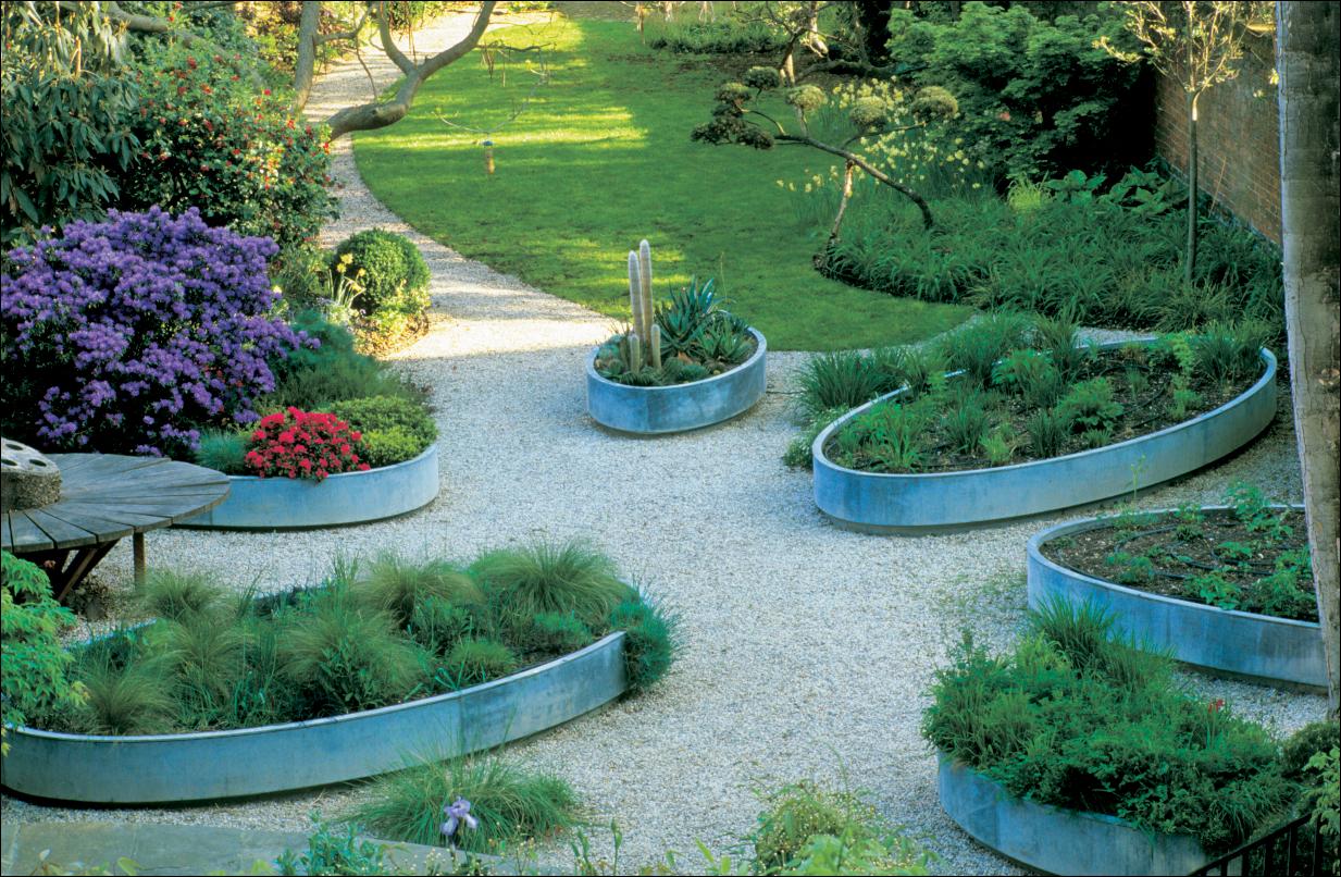 gartengestaltung mit hochbeet | medienservice architektur und bauwesen, Garten Ideen