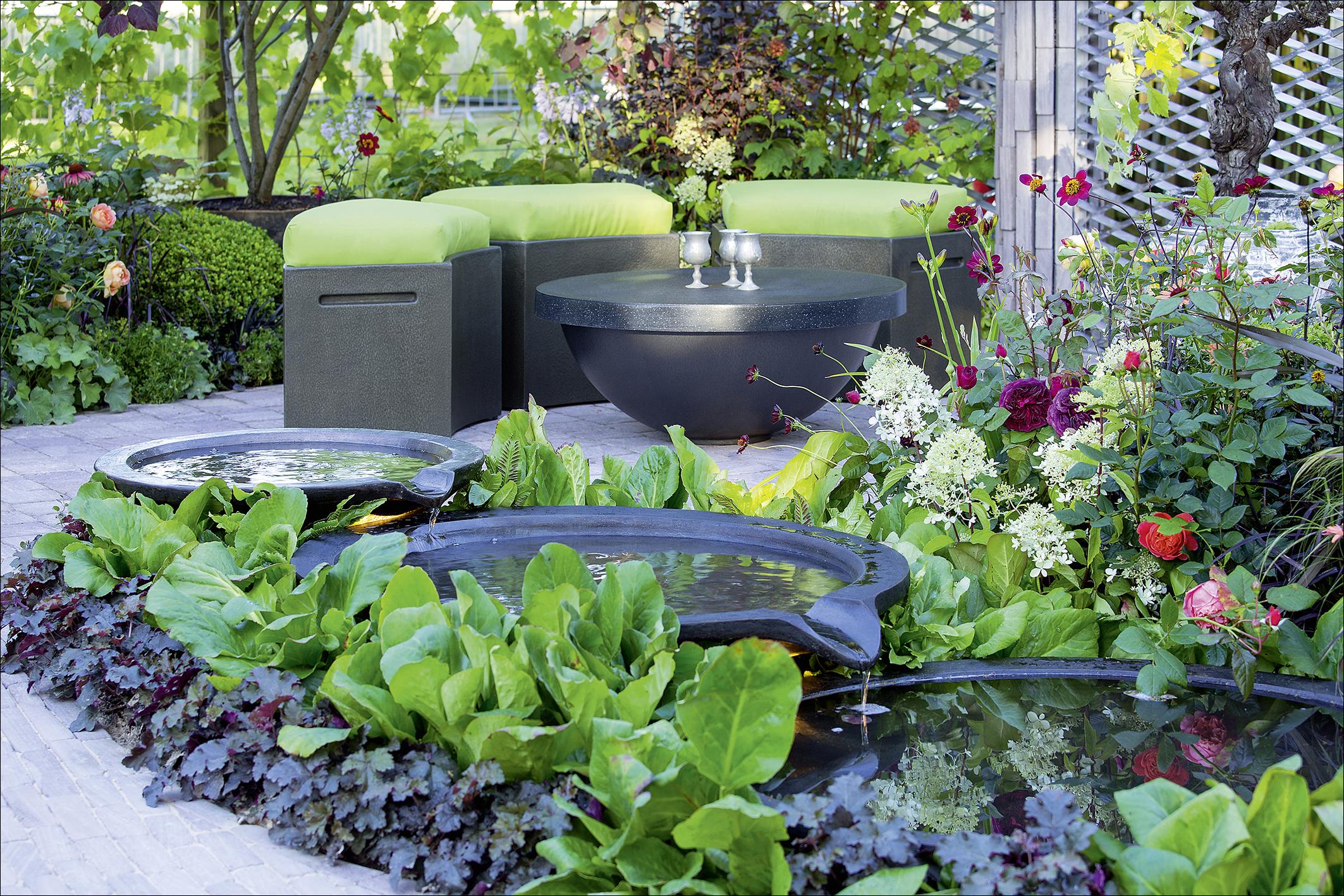 wasser im garten 2 das gro e ideenbuch medienservice. Black Bedroom Furniture Sets. Home Design Ideas