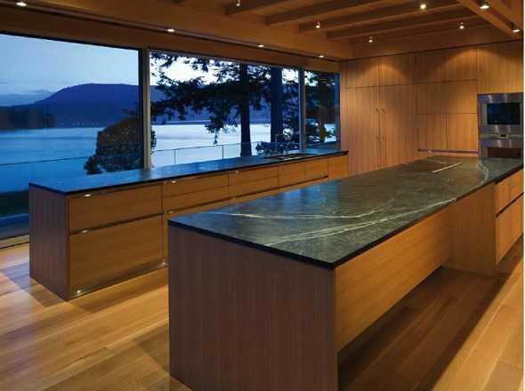 moderne holzk chen medienservice architektur und bauwesen. Black Bedroom Furniture Sets. Home Design Ideas