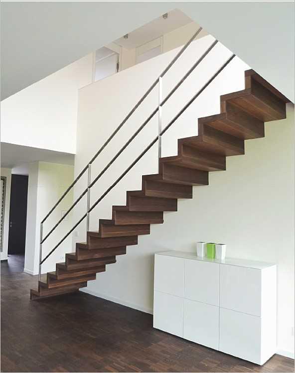 Moderne Holztreppe moderne treppen, teil 2. | medienservice architektur und bauwesen